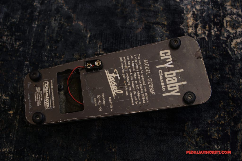 Review: Dunlop Crybaby Classic Wah   Pedal Authority