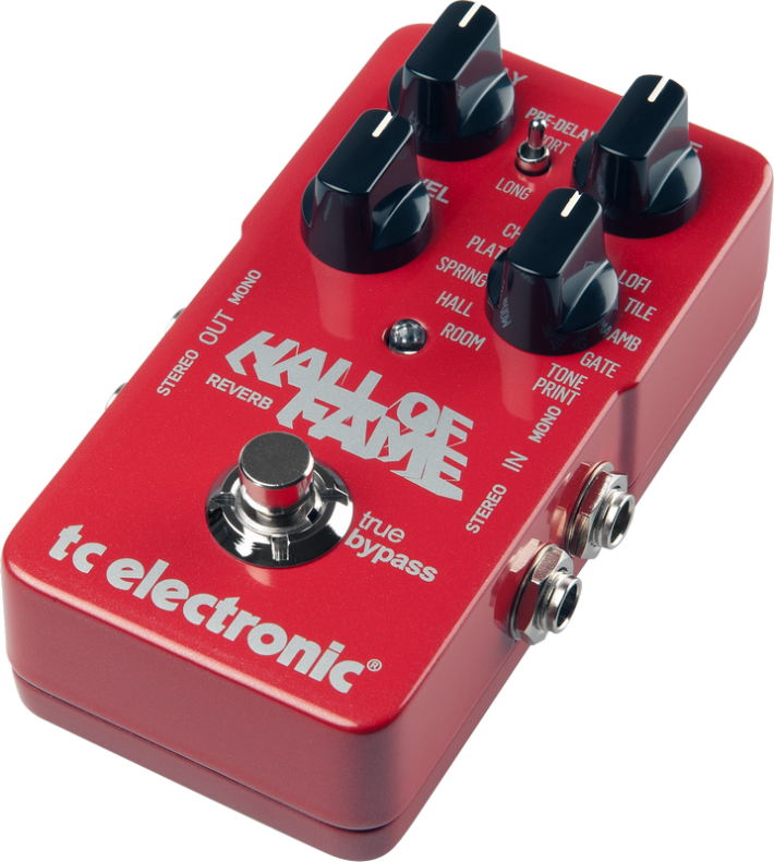 Review Tc Electronic Hall Of Fame Reverb Pedal Authority