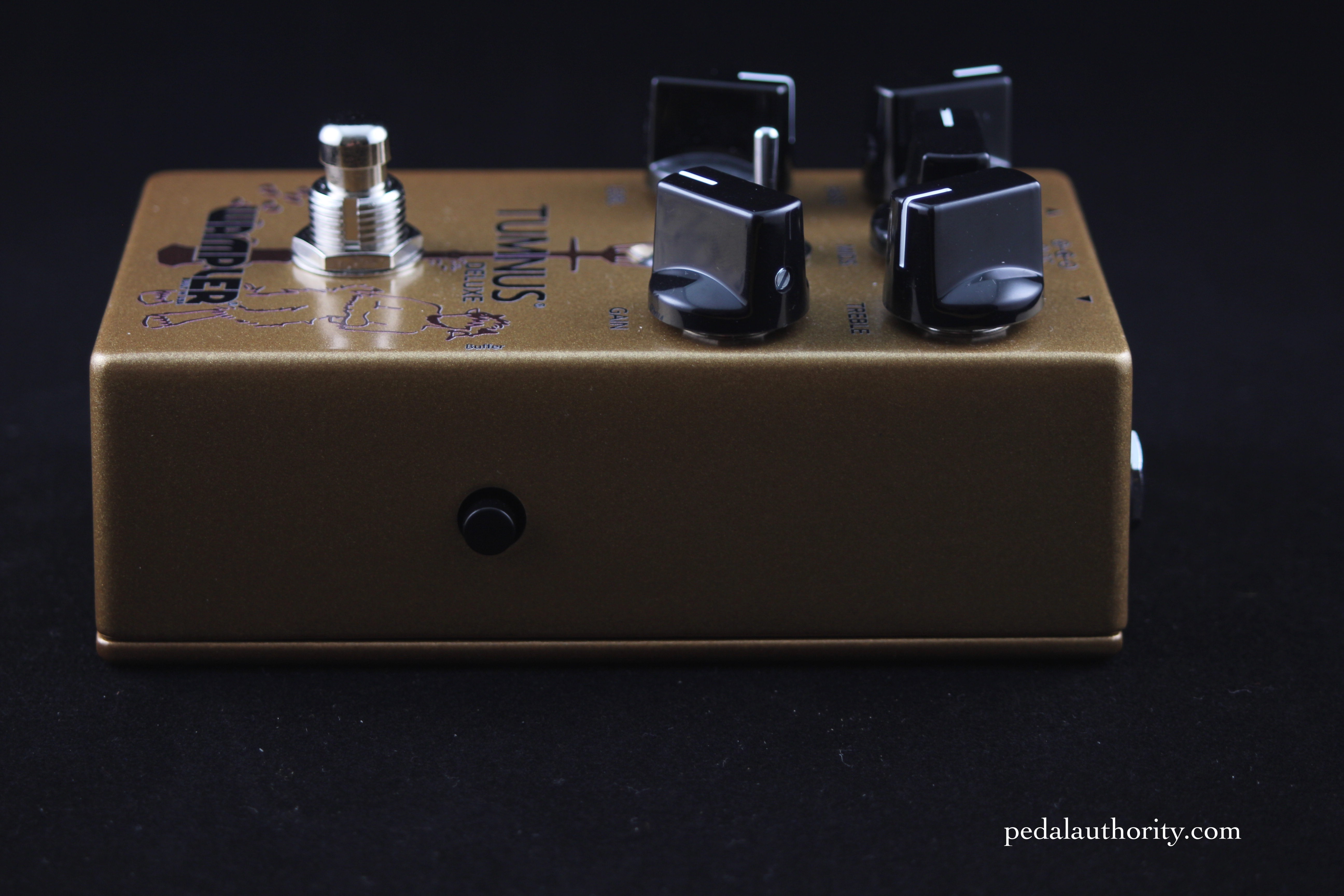 Review Wampler Tumnus Deluxe Pedal Authority Buffer Circuit Was Added Before The Actual Wah It Is There If A Switch On Side Of That Allows You To Easily Between True Bypass And Buffered Modes This Feature Becoming